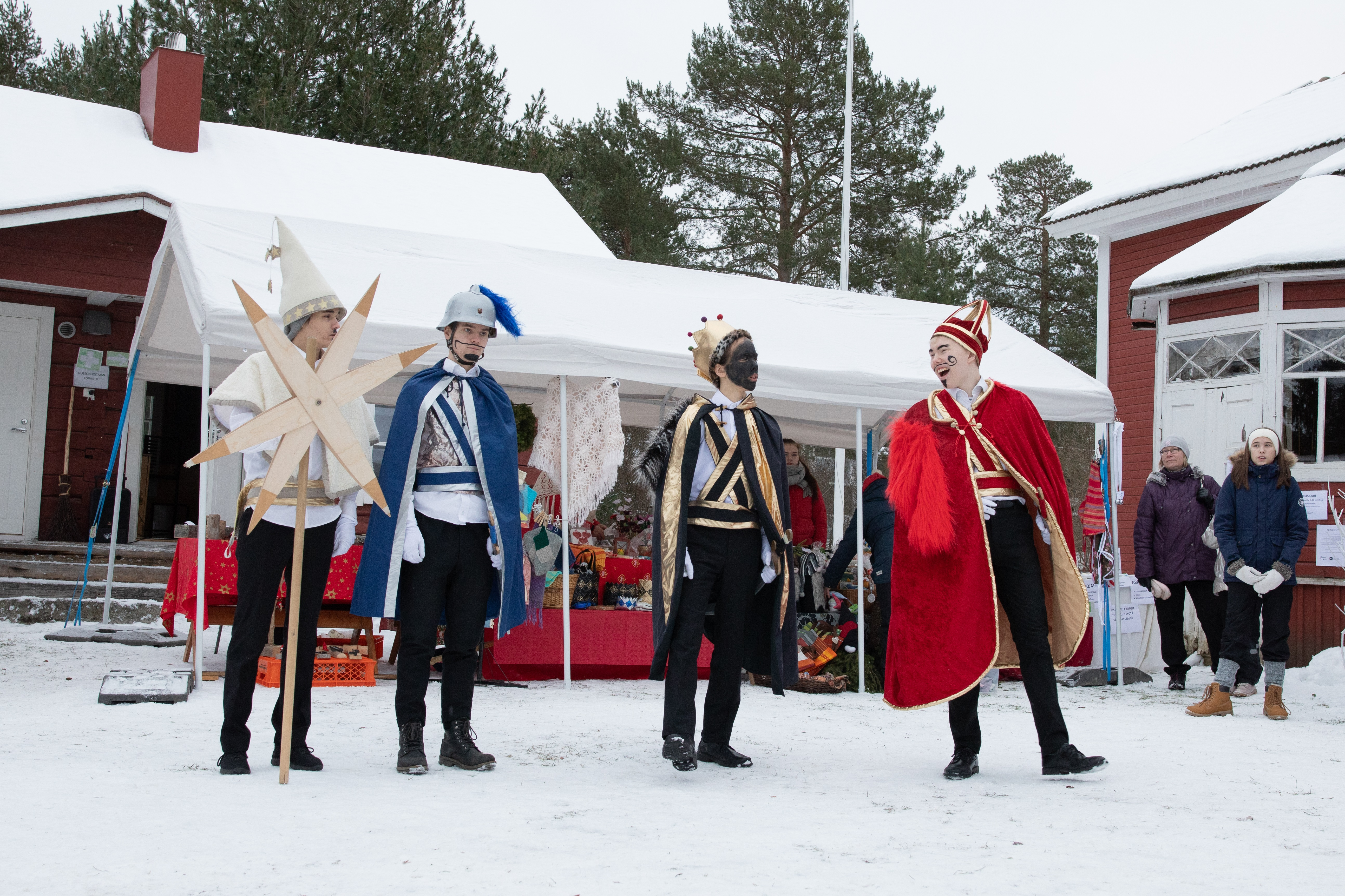 Traditional Finnish Star Boys
