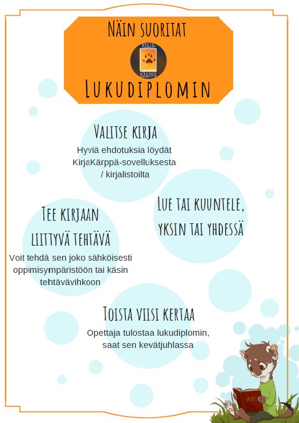 Lukudiplomi - Kempeleen kunta